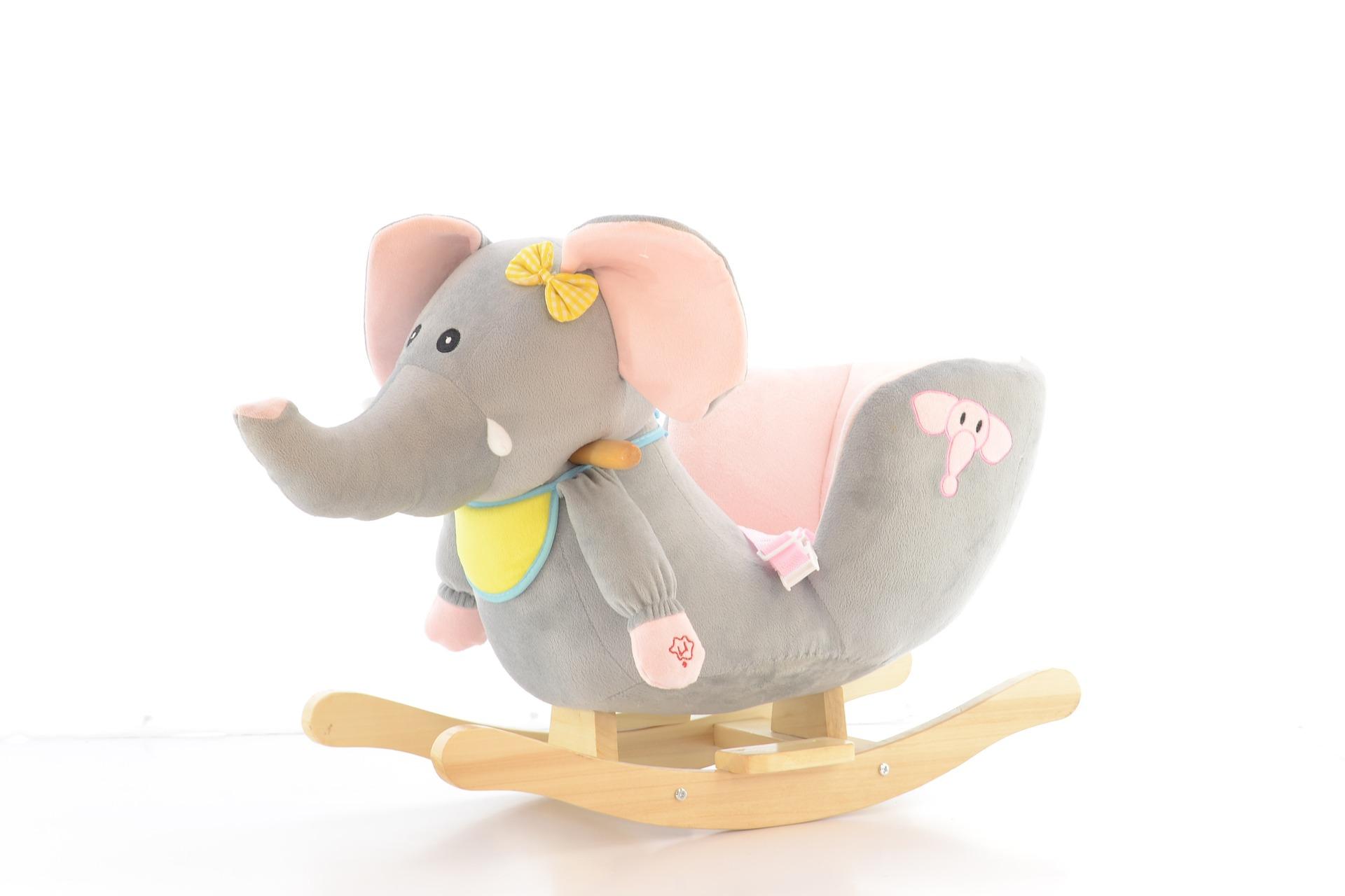 Schaukelpferd Elefant
